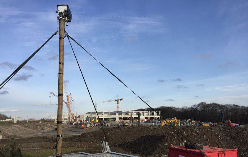 Entstehung IKEA Einrichtungshaus in Wuppertal im Zeitraffer
