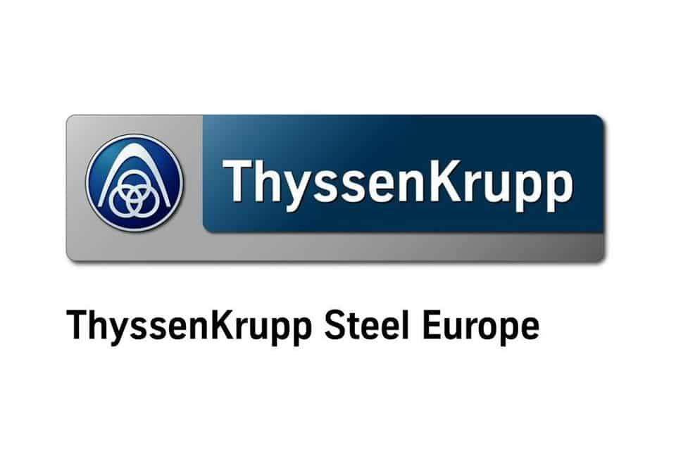 Um- und Neubauten bei ThyssenKrupp im Zeitraffer